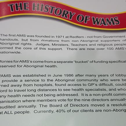 History of Walgett AMS